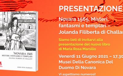 PRESENTAZIONE del libro NOVARA 1565 di Maria Rosa Marsilio